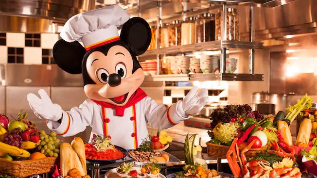 Jantar com o Mickey